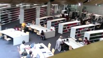 Hardcore Rave In The Library Prank