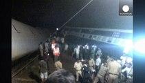 Double accident de trains en Inde à cause des inondations