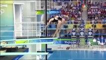 2008 Olympics - Women's Synchro 3 m. Springboard Finals