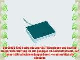 SCR Cloud 2700 R Smart Card Leser - ideal f?r OnlineBanking / sichere Zugang zu Netzwerken