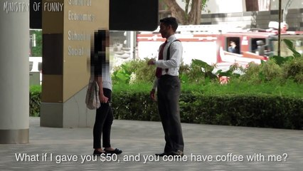 Sexiest BUSINESS Degree Pickup at SMU - Ministry of Funny