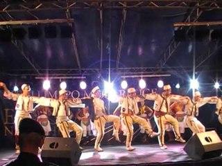 Ansambli i Zhurit ne Festivalin e Vlores Aulona Folk Suit vallesh kosovare