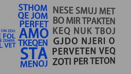 JetmiR - Nje Fjal ( Lyrics Video )