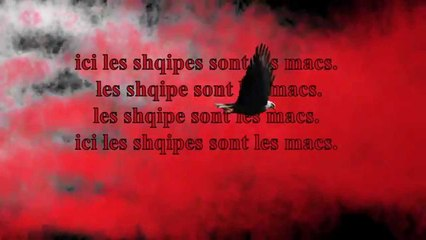 Loni - Les shqipe sont les macs  (Official Lyrics Song Video)
