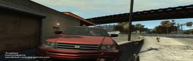 GTA4 Crashes, Smashes and Motoring Mishaps