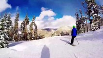 Skiing and Snowboarding at A51 in Keystone 2014 GoPro