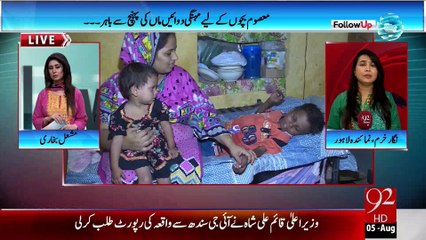 Thalassemia affected children - LHR - 05-08-2015