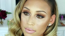 Golden Smokey Eye Tutorial | Glam & Sparkles