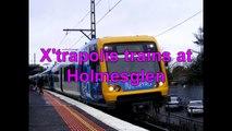 X'trapolis trains at Holmesglen - Metro Trains Melbourne