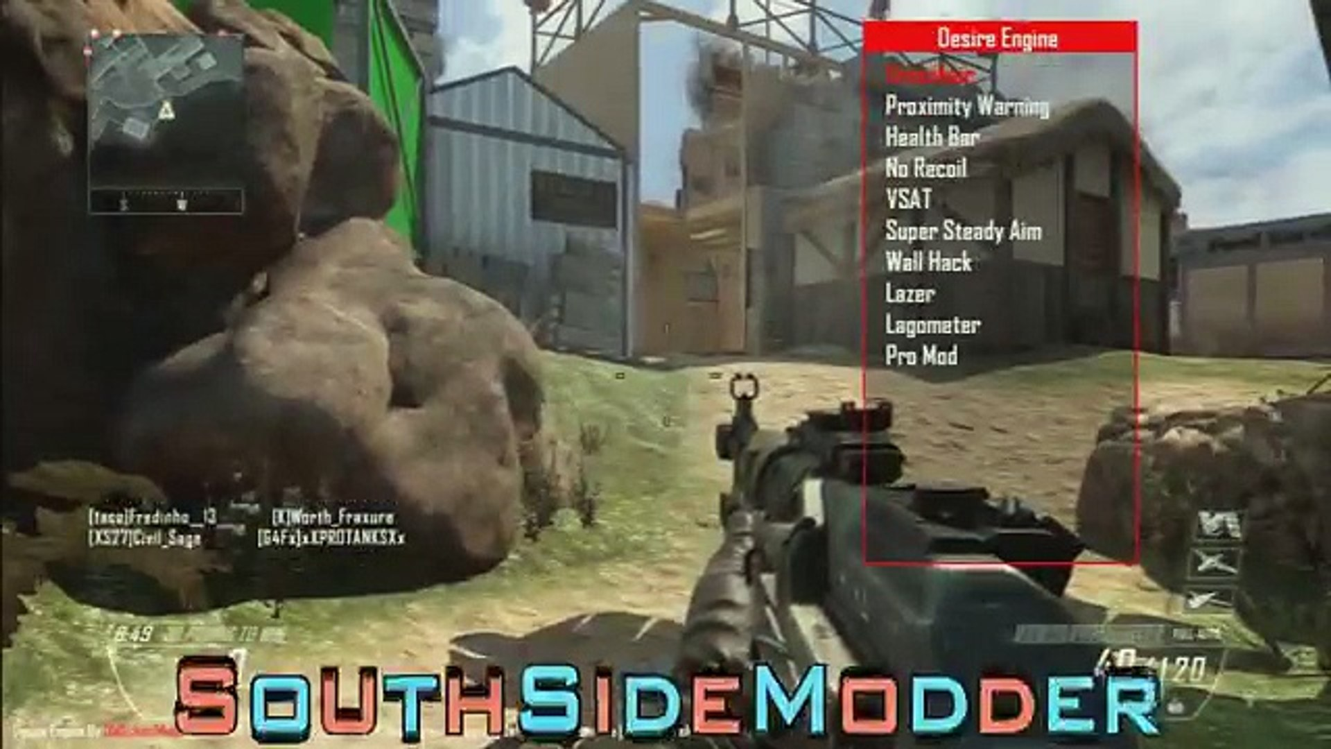 [Bo2_1 19] Desire Engine Non-Host Mod Menu (Aimbot, Red Boxes _ More!!!)