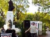 La Silla del Pecado - mimo - Operacion 3:16 - Plaza Sarmiento - Ramos Mejia