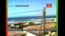 casablanca - maroc - avril  1982 الدار البيضاء  المغرب
