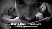 BRUNO MARS - Treasure [Bass Cover, Bass Solo included!!] WITH TABS