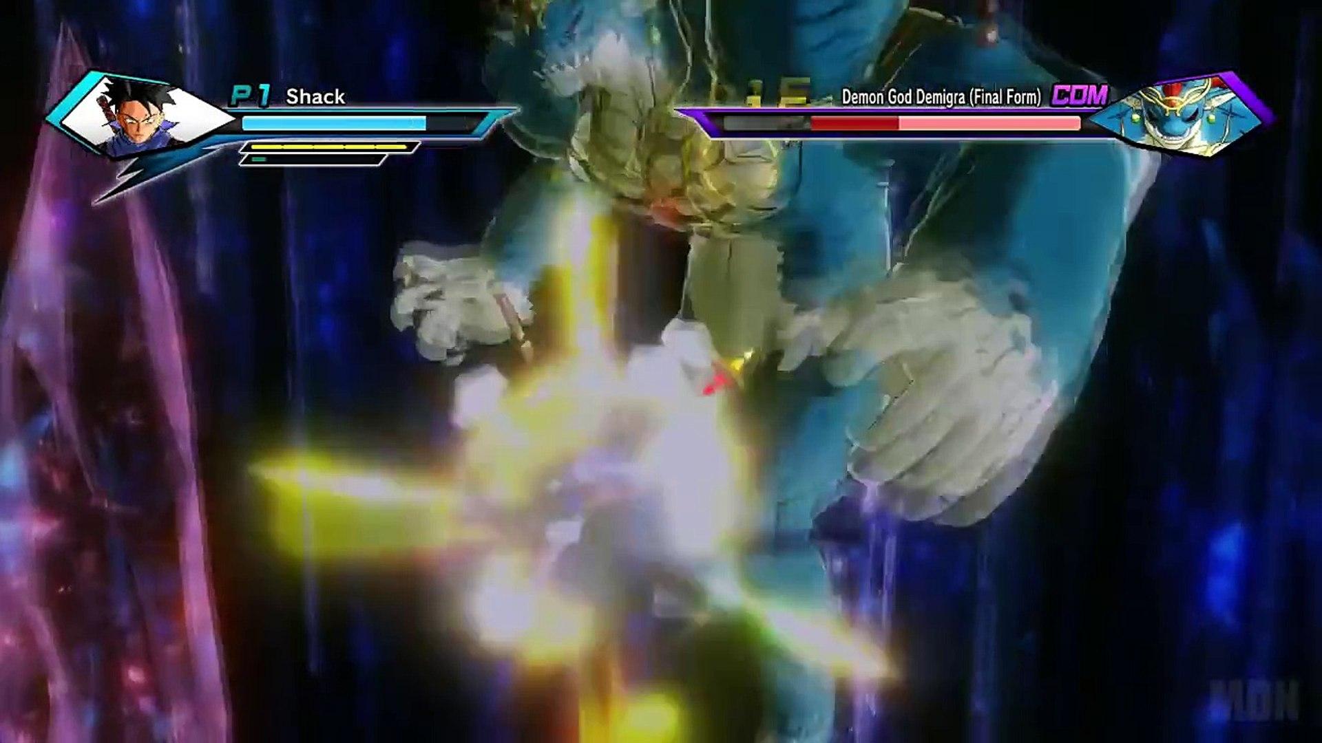 ENDING - Dragon Ball XenoVerse Gameplay Walkthrough Part 17 Demon God Demigra Saga