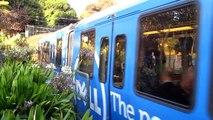 Muni Metro N Judah @ Sunset Tunnel Carl St & Cole St San Francisco California