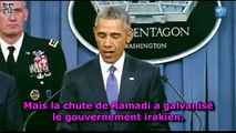 ISIS :  Le terrible lapsus révélateur de Barack Obama