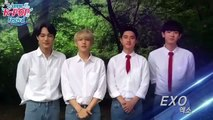 150804 EXO Greeting @ Summer K-POP Festival