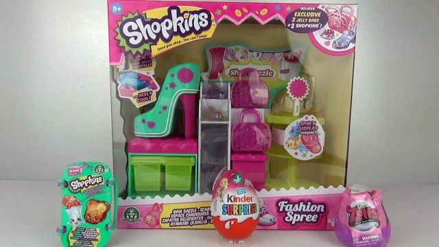 Toys - Surprise Eggs Shopkins Fashion Spree Shoe Dazzle Playset