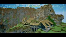 Rivendell (Lord of the Rings) in Minecraft