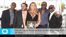 Mariah Carey Receives Star on the Hollywood Walk of Fame