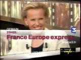 France 3 07.06.04 1 Pub, 4 B.A.,Cinéma lundi, Libre et court, Ombre et lumière, Le fabuleux destin de...