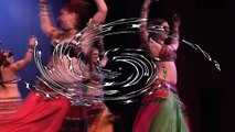 "Tribal Belly Dance Lessons: ""Turkish"" with Shimmy overlay and transitions"