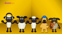 Finger Family Shaun The Sheep Family Nursery Rhyme | Shaun The Sheep  Finger Family Song