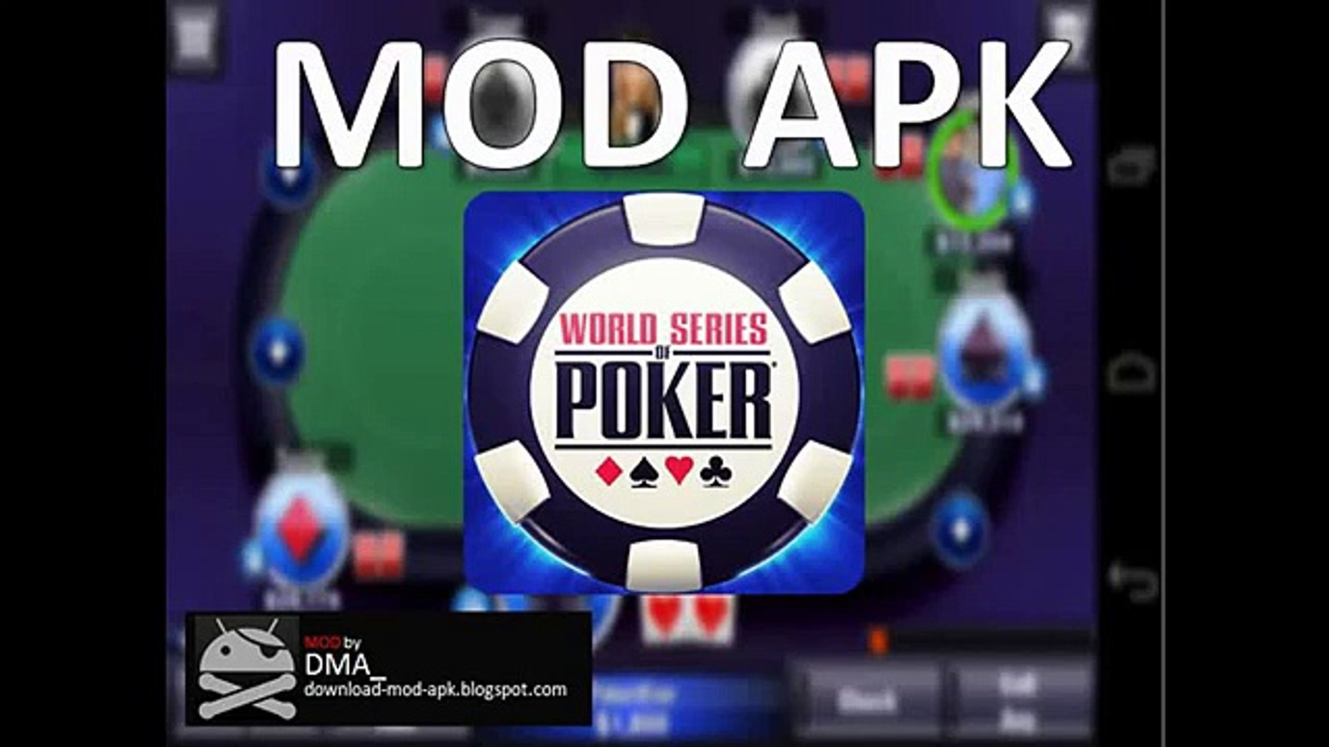 World Series Of Poker Mod Apk No Root Unlimited Chips Golds Video Dailymotion