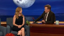 """Judy Greer- The """"Archer"""" Cast's Filthy Sign Language Live Shows - CONAN on TBS"""