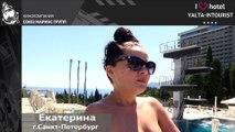 Отдых в Крыму. Очаровательная гостья рассказала про отдых в отеле «Ялта-Интурист»