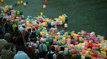 70 ans après la bombe nucléaire, Hiroshima se recueille à la lumière des lanternes