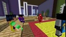 Minecraft Build Battle: Batman vs Robin vs Batgirl w/The Flash as Judge!