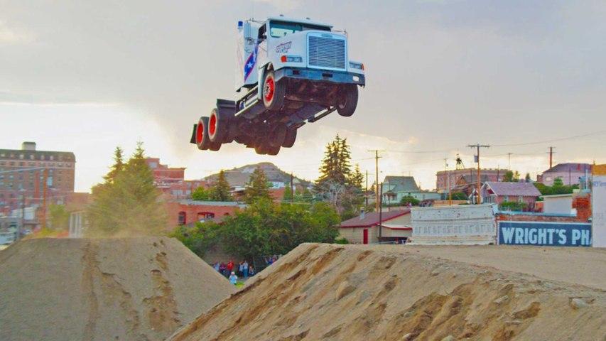 166ft Truck Jumping: Stunt Family Break Two World Records