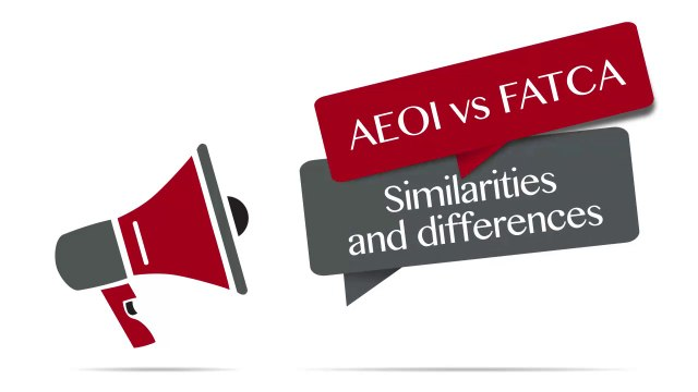 AEOI: similarities and differences with FATCA