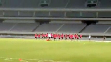 SHANGHAI - Allenamento Juventus
