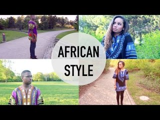Quick OOTD : African Style | Cornerside