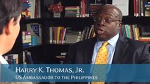 Ernest Z. Bower Interviews Harry K. Thomas, Jr. US Ambassador to the Philippines