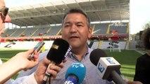 Foot: le stade Bollaert du RC Lens renové pour l'Euro 2016