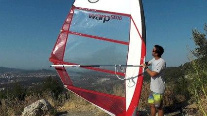 Présentation North Sails Warp F2016