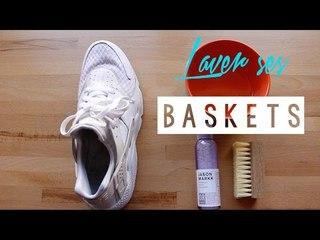 Laver ses baskets  | Cornerside