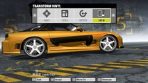 Need for Speed ProStreet - How to make Han's RX7 - ( Fast and Furious - Tokyo Drift )