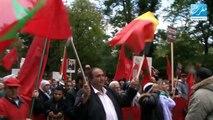 Marche pour le Sahara marocain à Bruxelles - Maghreb TV