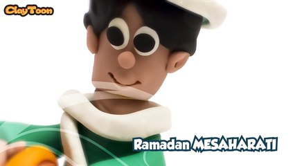 Ramadan MESAHARATI Man, Polymer clay tutorial.  مسحراتى رمضان , تشكيل صلصال