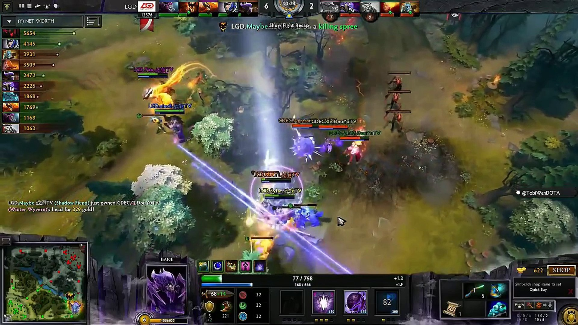 LGD-GAMING vs CDEC Gaming - Ti5 highlight Main Event