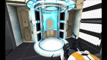 Let's Play Portal 2 Co-Op #4 JÄVLA MASSA PORTALER