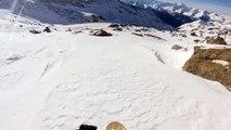 2013-12 - Snowboard freeride @ Val Thorens - GoPro Hero 3 - Jeremy Jones Flagship 161