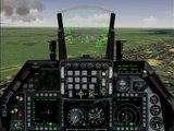 Falcon 4.0 Allied Force landing