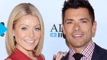 Seriously?! Mark Consuelos Injures Himself on the Exact Same Foot as Wife Kelly Ripa