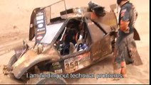 Dakar 2015 highlights stage 7 and 8 Tom Coronel including crash, Maxxis Dakar team