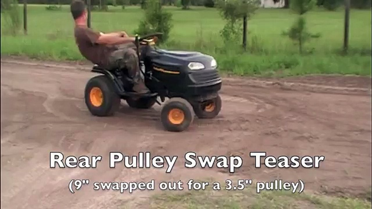 Pulley Swap Poulan Teaser
